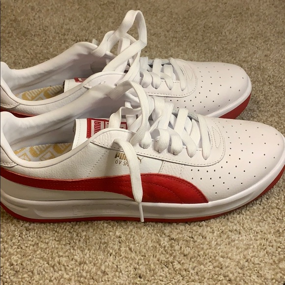 Puma Shoes | Gv Special Red And White